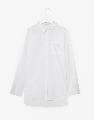 Shirt With Silk Panels