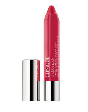 Chubby Stick Intense Moisturizing Lip Colour Balm in Chunky Cherry