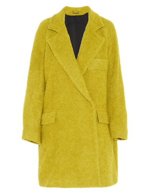 Diane Von Furstenburg Laurel Wool-Blend Bouclé Coat