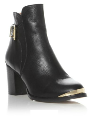 Pedro Metal Trim Ankle Boot