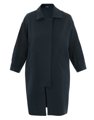 Freda Dawn Crepe Coat