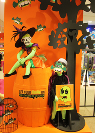 Halloween at Selfridges