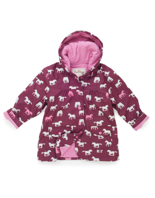 Hatley Pretty Horses Raincoat
