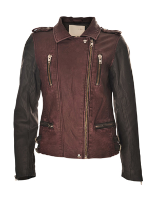 Iro Anabela Leather Biker