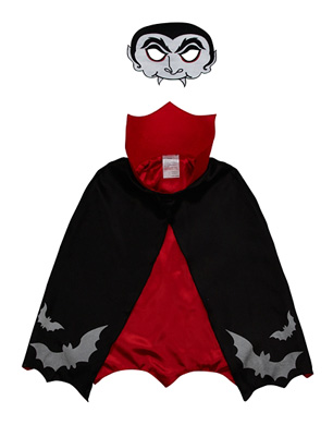 Vampire Mask and Cape