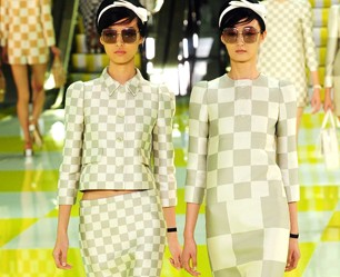 Louis Vuitton show, Spring Summer 2013, Paris Fashion Week, France - 03 Oct 2012