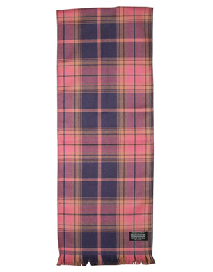 Breast Cancer Care Tartan Scarf
