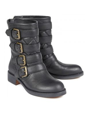 Marc By Marc Jacobs Leather Biker Boots