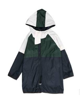 Marni Enfant Three Colours Raincoat