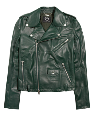 McQ Alexander McQueen Leather Biker