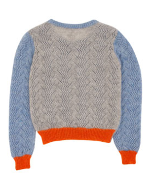 Michael Van Der Ham for Brora Mohair Jumper