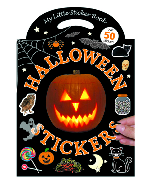 My Little Halloween Sticker Book