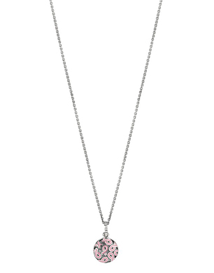 Pandora Sterling Silver Breast Cancer Awareness Necklace