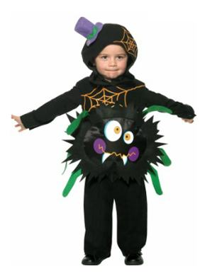 Toddler Crazy Spider Costume