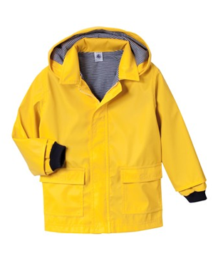 The Petit Bateau Raincoat