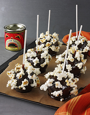 Popcorn Toffee Apples Post