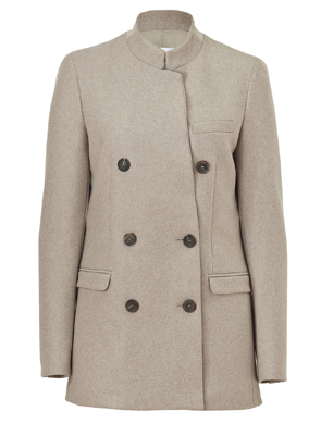 See by Chloé Double Breasted Wool Jacket