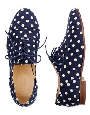 Girls Dot Oxfords