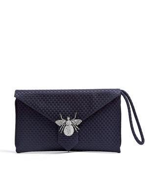 Wilbur & Gussie Navy Edith Clutch