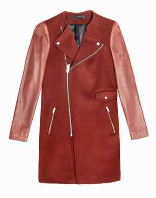 Combined Coat With Zip