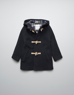 Wool Duffle Coat Double Face