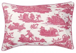 Toile Cotton Pillowcase