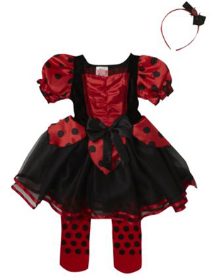 Girl's Ladybird Costume