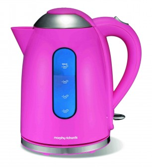 Limited Edition Accents Pink Jug Kettle