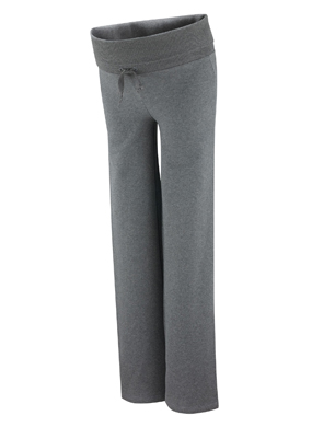 Roll Up/Down Grey Marl Pants