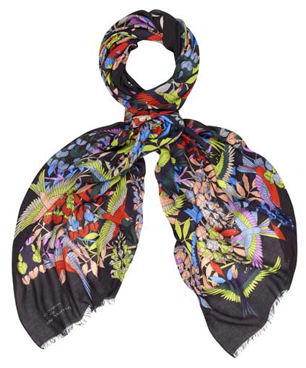 Jonathan Saunders Limited Edition Nouveau Bird Scarf