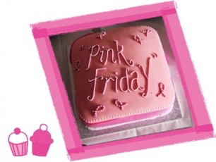 pink friday cake