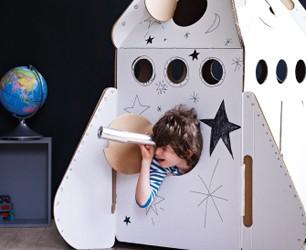 Cardboard Rocket
