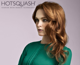 HotSquash green pleat top