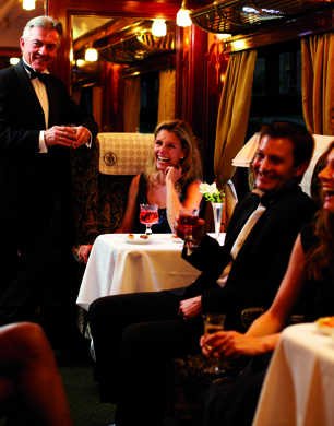 New Year's Eve On The Orient Express