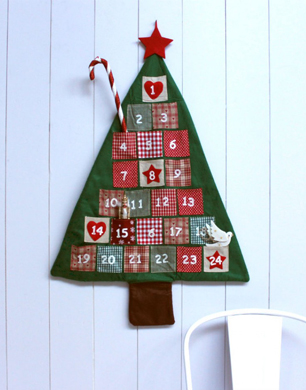 Felt Advent Tree