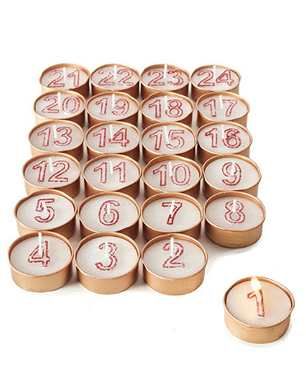24 Advent Tealights