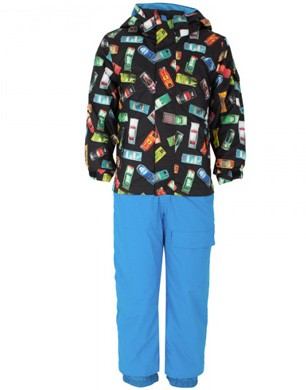 Quicksilver Car Print Snowsuit