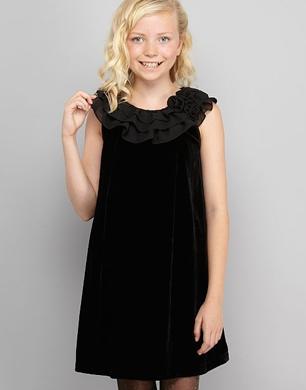 Little Girls Velvet Party Dresses - Holiday Dresses
