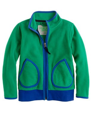 Boys Winter Fleece Full-zip Jacket