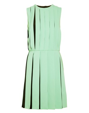 Versus Pleated Crepe Dress