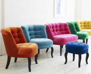 Velvet Chairs at Oliver Bonas