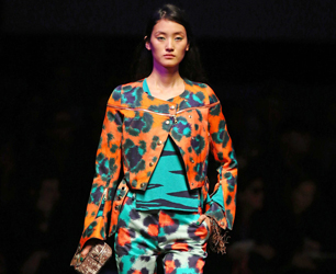 Kenzo show, Spring Summer 2013, Paris Fashion Week, France - 30 Sep 2012