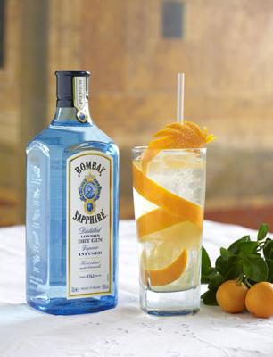 Robbie Honey's Bombay Sapphire Orange Blossom G&T Infusion