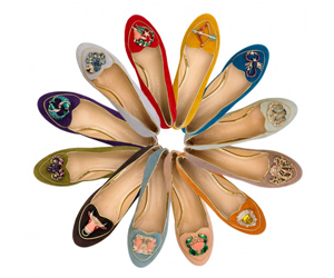 Charlotte Olympia Cosmic Collection of shoes