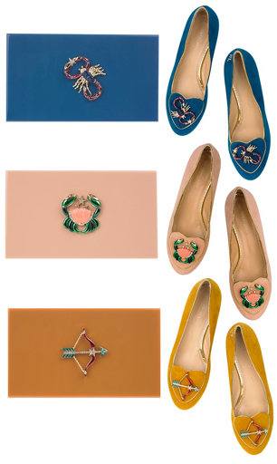 Cosmic Shoe Collection by Charlotte Olympia