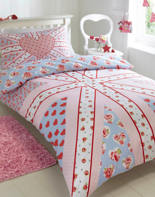 Best Bluezoo Girl us Union Jack Bedding Set