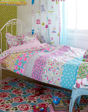 Inspirational Daisy Daisy Bright Floral Girls Bed Linen