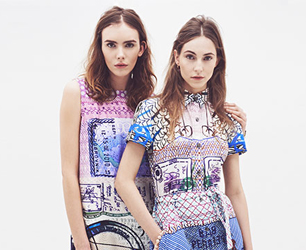 Mary Katrantzou X Current-Elliott SS13