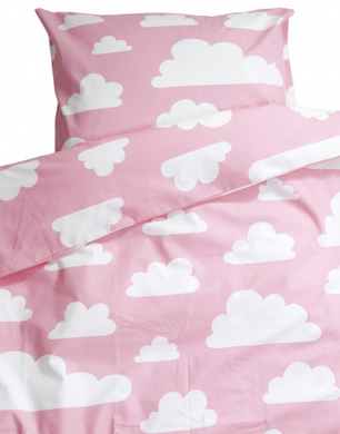 Perfect Farg u Form Pink Cloud Bed Set