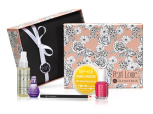 Pearl Lowe for GlossyBox